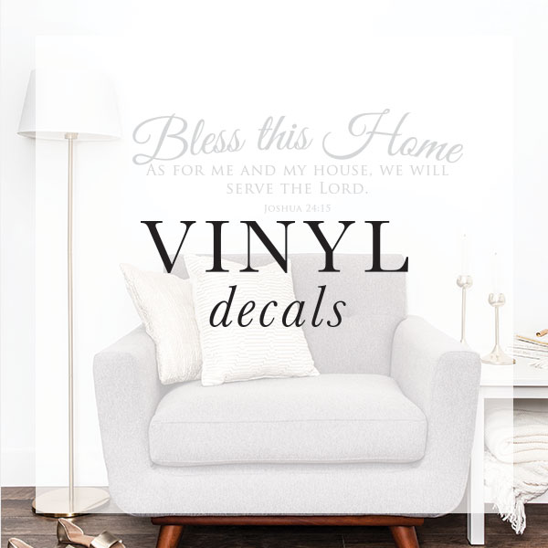 Christian and Scripture Vinyl Wall Decals