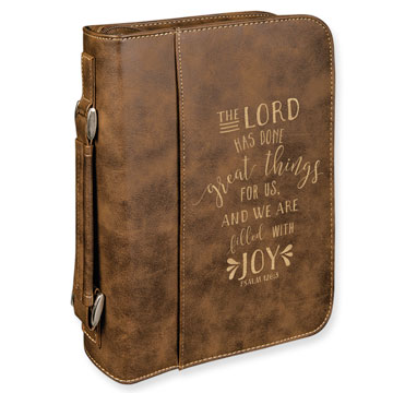 The Lord Has Done Great Things Bible Cover