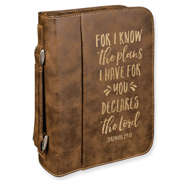 For I Know The Plans I Have Bible Cover