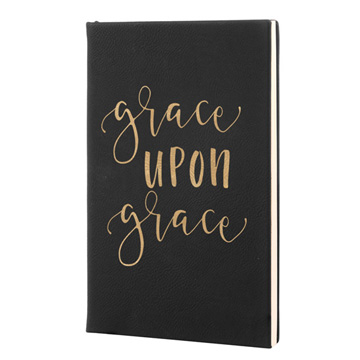 Grace Upon Grace Leatherette Journal