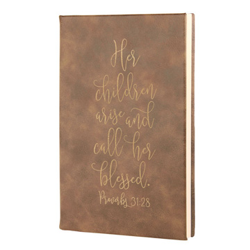 Her Children Arise Leatherette Journal